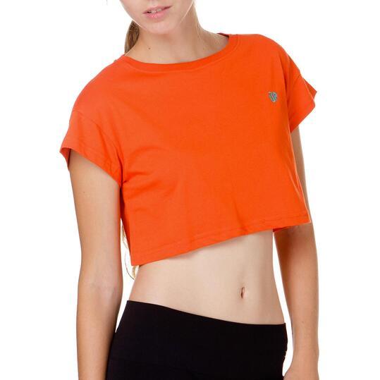 Camiseta Corta UP Rojo Mujer