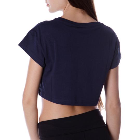 Camiseta Corta UP Marino Mujer