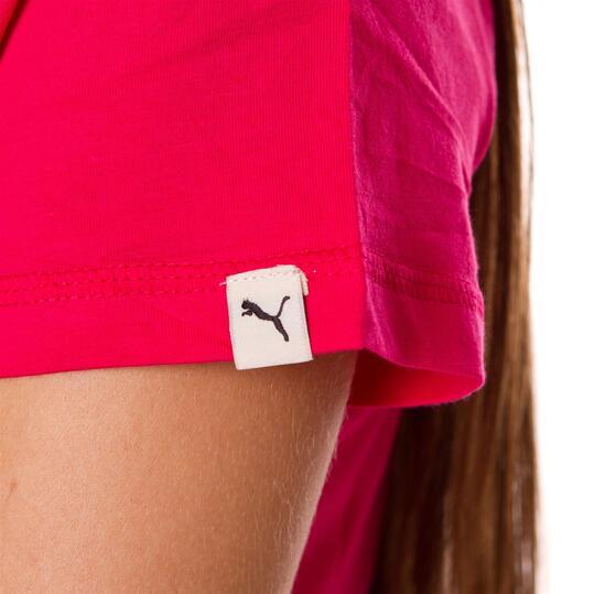 Camiseta Moda PUMA Fun Sp Rosa Mujer