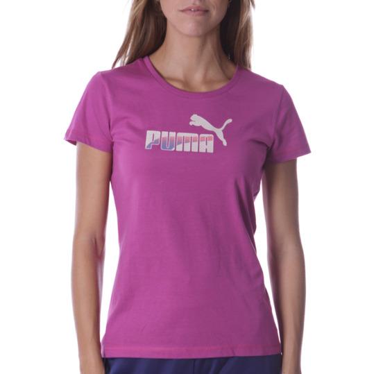 Camiseta Moda PUMA Fun Sp Morado Mujer