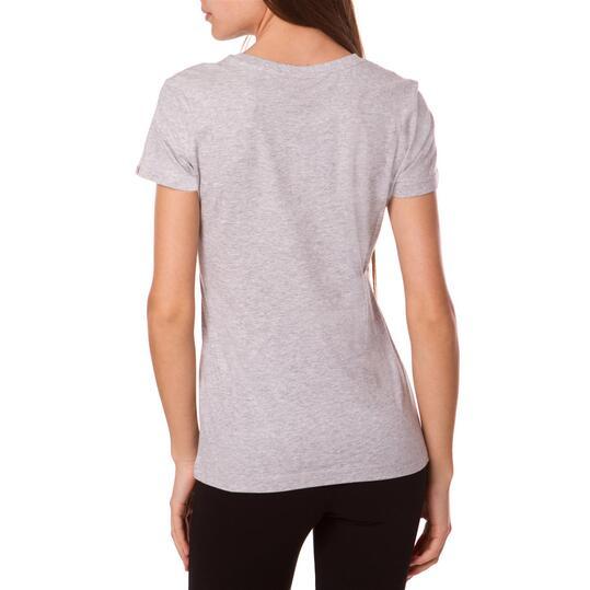 Camiseta Moda PUMA Fun Sp Gris Mujer