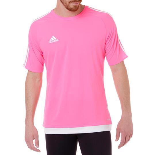 camiseta adidas rosa niña