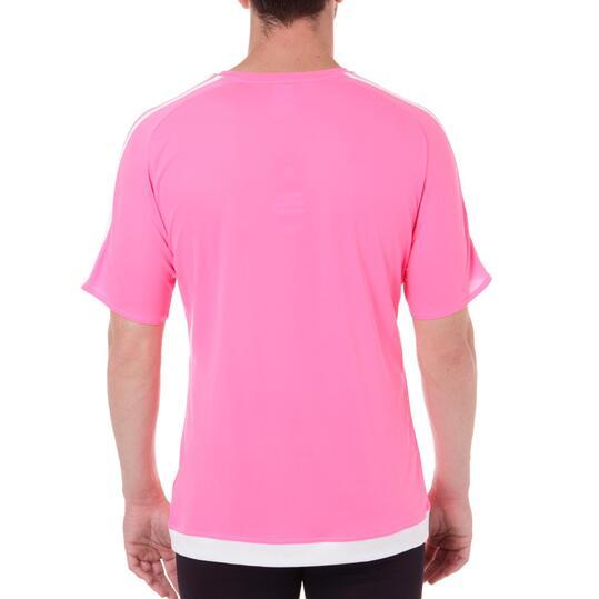 ADIDAS ESTRO Camiseta 15 Hombre Rosa flúor