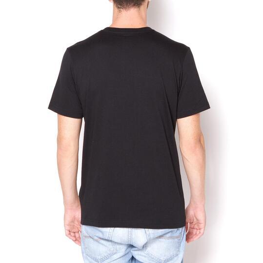 Camiseta Moda ADIDAS Bulls Logo Negro Hombre