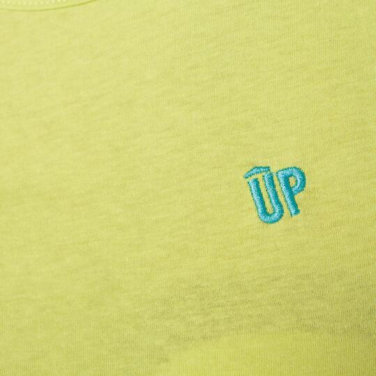 Camiseta Sin Manga Mujer UP Verde Pistacho