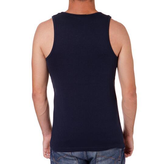 Camiseta Tirantes UP Marino Hombre