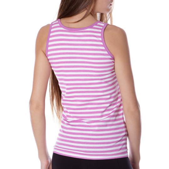 Camiseta Moda UP Morado Mujer