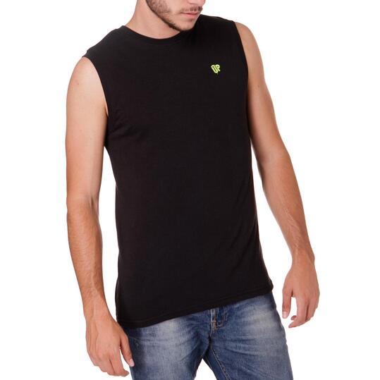 Camiseta UP Negro Hombre