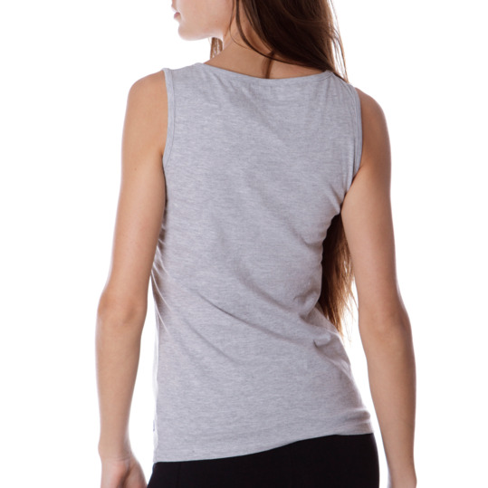 Camiseta UP Stamps Gris Mujer