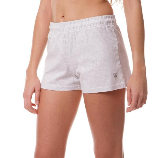 Short Moda UP Gris Mujer