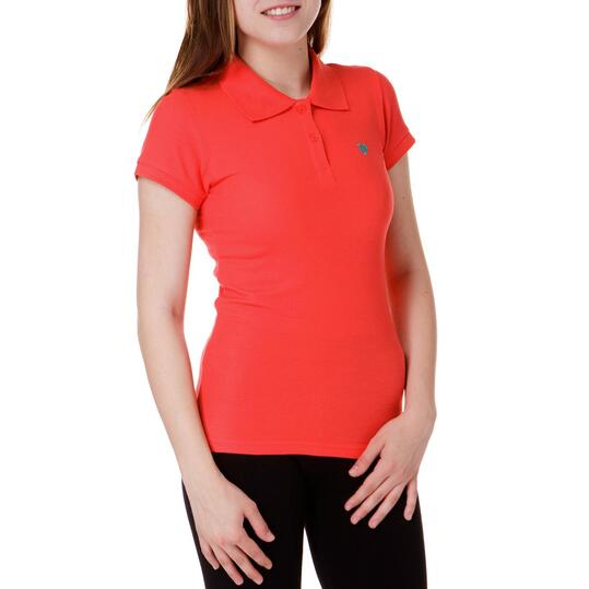 Polo UP Coral Mujer