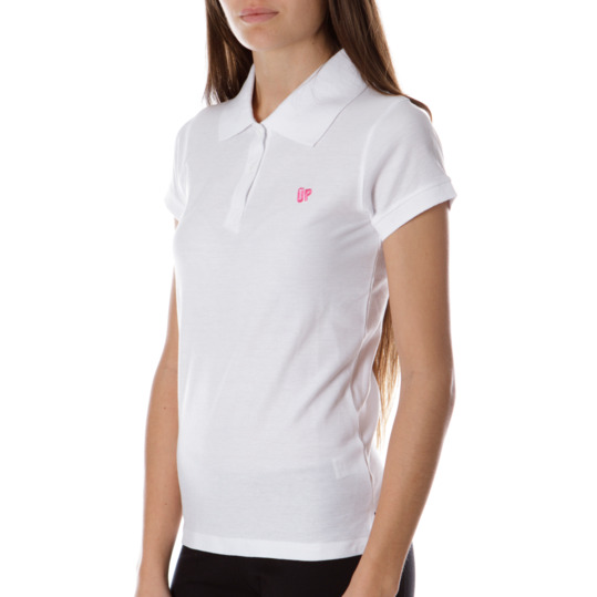 Polo UP Bsico Blanco Mujer