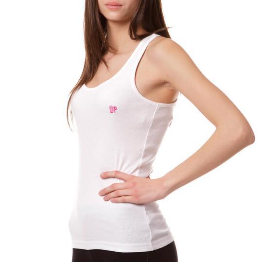 Camiseta UP Mariposa Blanco Mujer