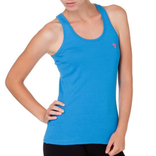 Camiseta UP Mariposa Azul Mujer