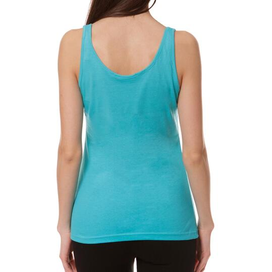 Camiseta UP Azul Turquesa Mujer