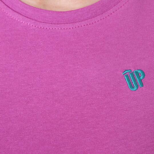 Camiseta Moda UP Basic Morado Mujer