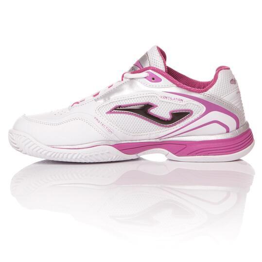 Zapatillas pádel JoMA ProTour Blanco Mujer
