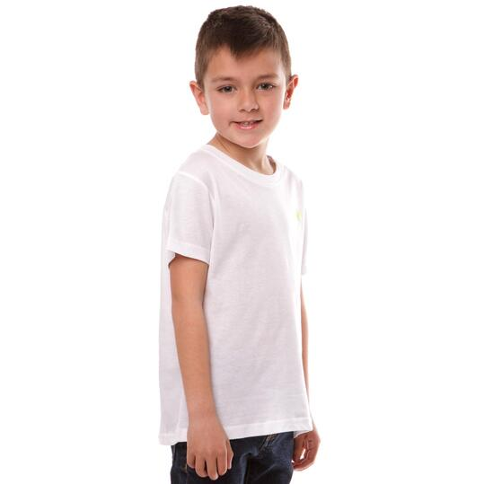 Camiseta UP Bsicos Blanco Niño (2-8)