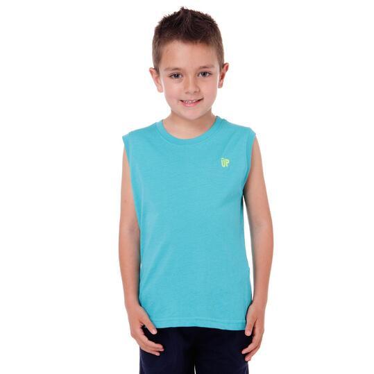 Camiseta UP Turquesa Niño (2-8)