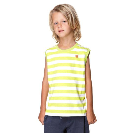 Camiseta Moda UP Marino Niño (2-8)