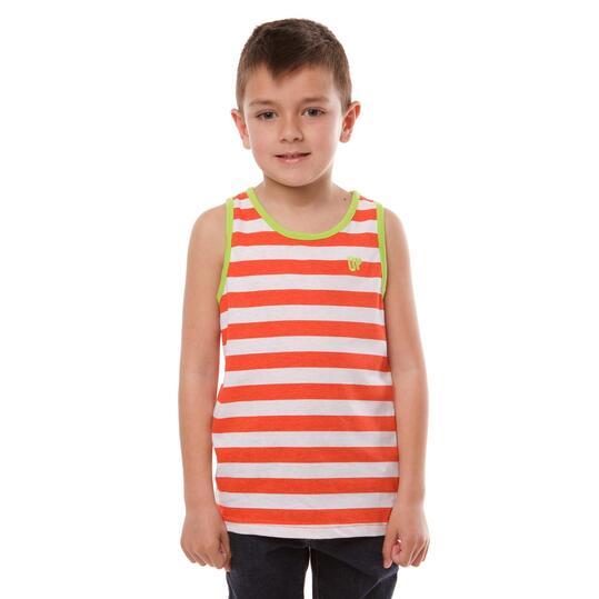 Camiseta Tirantes UP Basic Rojo Niño (2-8)
