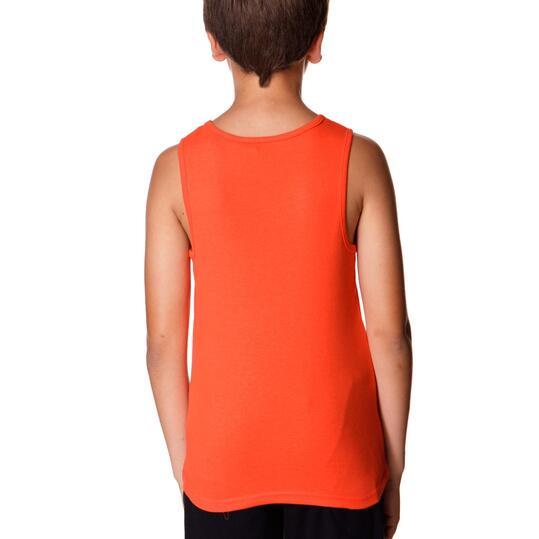 Camiseta UP Tirante Rojo Niño