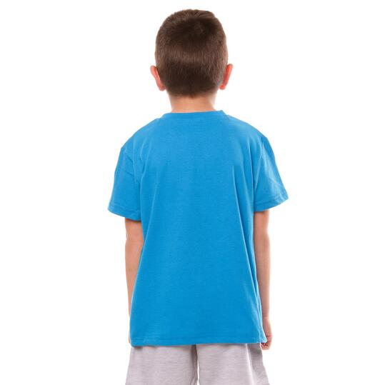 Camiseta UP Stamps Azul Niño (2-8)