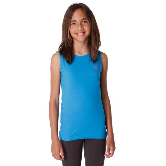 Camiseta UP Azul Niña