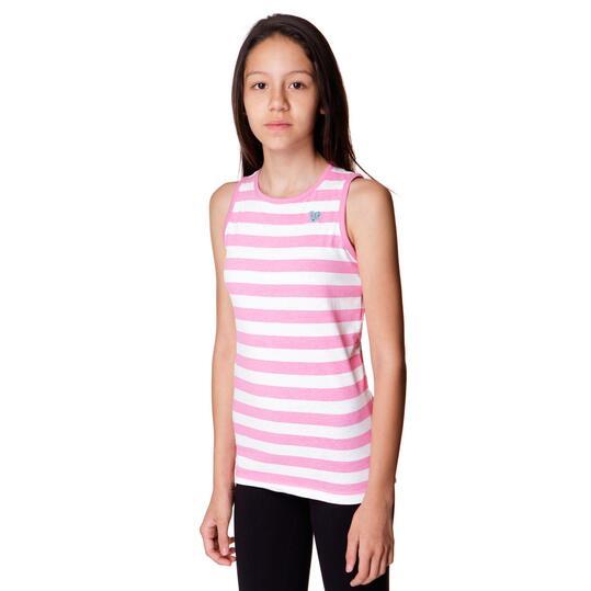 Camiseta Moda UP Rosa Niña