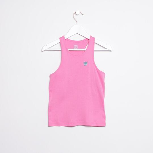 Camiseta UP Rosa Niña (2-8)