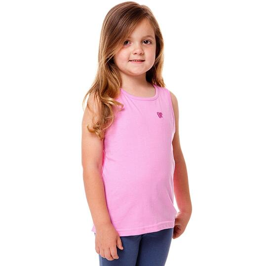 Camiseta Moda UP Celeste Niña (2-8)