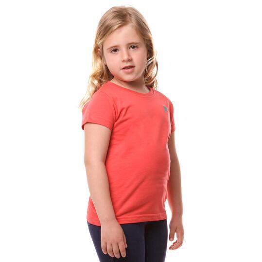 Camiseta UP Bsica Coral Niña (2-8)