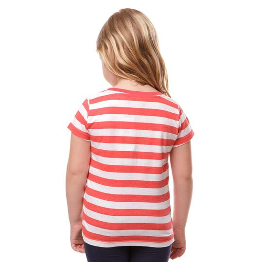 Camiseta UP Basic Coral Blanco Niña (2-8)