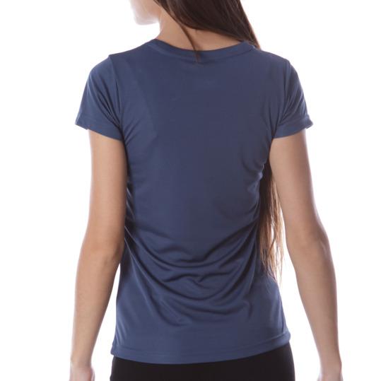 Camiseta Montaña BoRIKEN Logo Azul Mujer