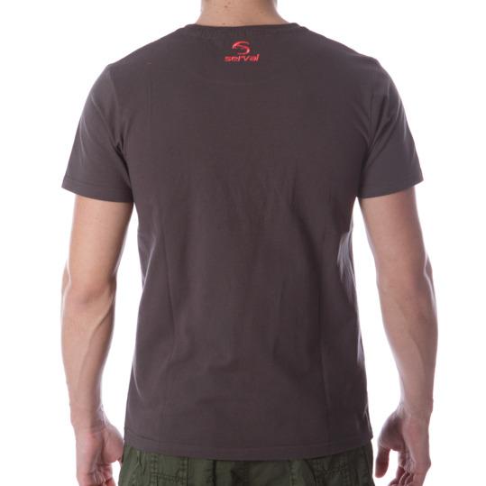 Camiseta Montaña SERVAL Gris Hombre