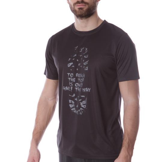 Camiseta Montaña BoRIKEN Gris Hombre