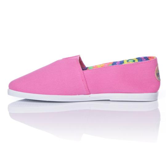 Zapatillas Lona SILVER Rosa Mujer