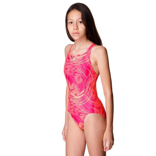Bañador Natación ADIDAS Rosa Niña