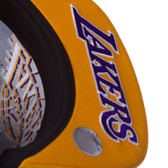 Gorra ADIDAS NBA Lakers Negro