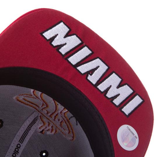 Gorra ADIDAS NBA Miami Heat Negro
