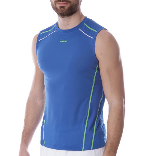 Camiseta Tenis PRoToN Azul Hombre