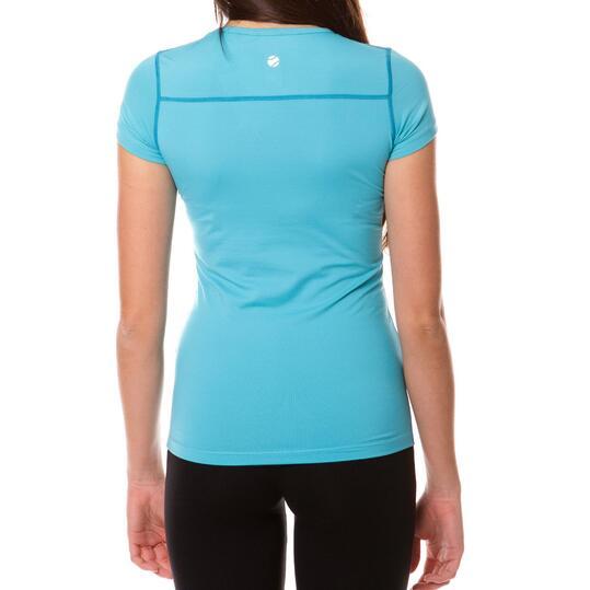 Camiseta M/C Tenis PRoToN Azul Mujer