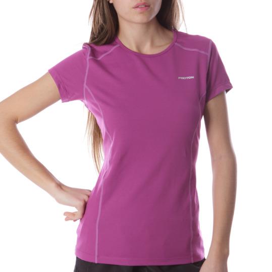 Camiseta M/C Tenis PRoToN Morado Mujer
