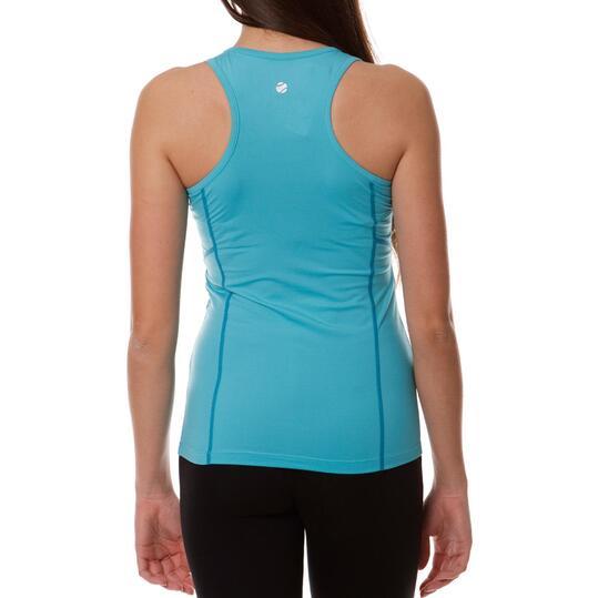 Camiseta Tenis PRoToN Azul Mujer