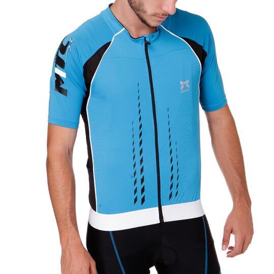 Maillot Ciclismo MÍTICAL oro Azul Hombre