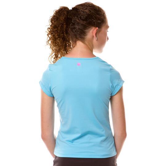 Camiseta Tenis PRoToN Azul Niña