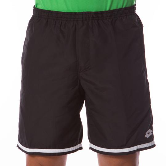 LOTTO Pantalón Corto Tenis Negro