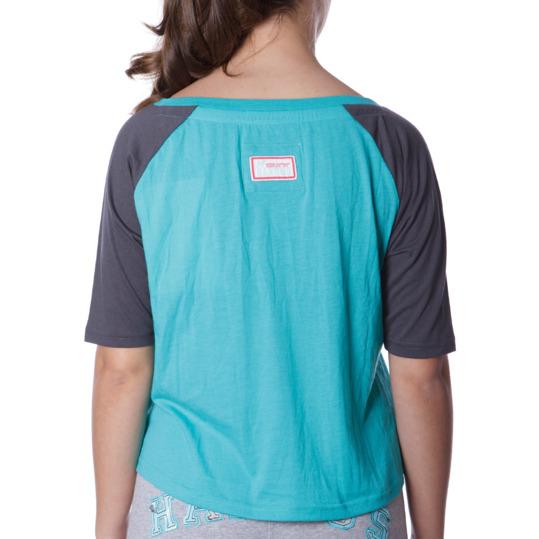 Camiseta Moda HARGUS Azul Mujer