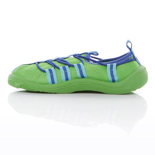 Aquashoes SILVER Verde Niño