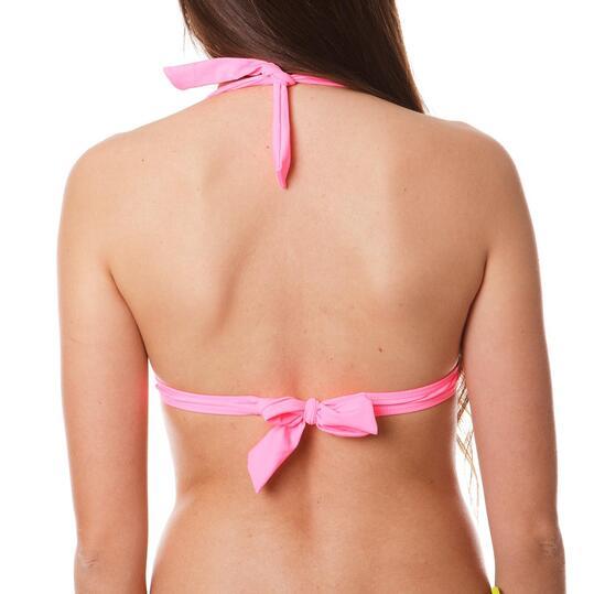 Sujetador Bikini UP Tringulo Negro Mujer